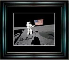 Autographed picture by Alan Shepard