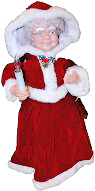 Our Animated Mrs. Claus