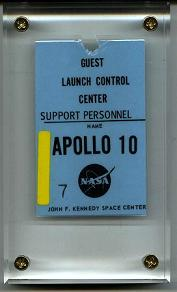 NASA Launch Control Center Pass