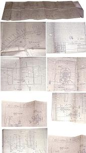 Original Buran Spacecraft Blueprints