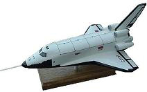 Russian Buran Space Shuttle Model