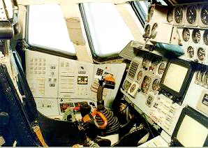 Russian Space Shuttle Cockpit Windows
