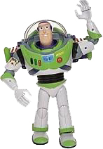 "Buzz Lightyear from the movie ""Toy Story"""