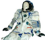 Authentic Russian SOKOL Space Suit