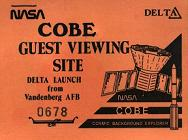 NASA Guest Launch Viewing Pass