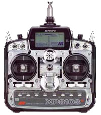 JR Model XP8103 Digital Transmitter