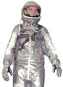 John Glenn Mercury Space Suit