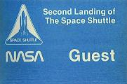 Space Shuttle Landing Guest Pass