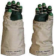 Russian ORLAN EVA Space Suit Gloves