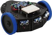 Our Parallax Stingray Robot with Ping))) Sensors