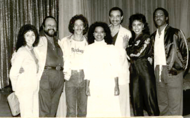 Rick (3rd from left) with the 5th Dimension