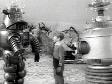 "Both Robots appeared on the  ""Lost in Space"" Sci-Fi Television Series"