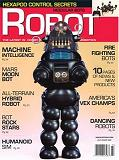 Robby on the front cover of Robot Magazine
