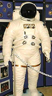 We have several of these EVA Suited replicas on display at our Science Centers across the country.