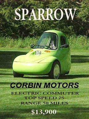 An original ad featuring the Sparrow