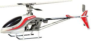 One of Rick's RC Helicopters