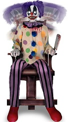 Thrashing Clown Animatronic