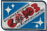 Flown & Autographed VAKO-SOYUZ EVA Patch