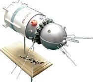 Russian Vostok Spacecraft Model